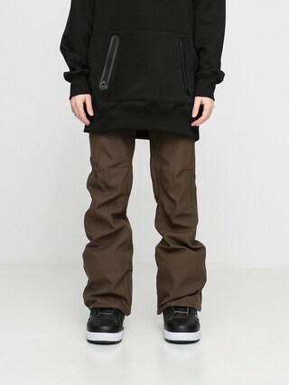 Pantaloni pentru snowboard Volcom Species Stretch Wmn (black military)