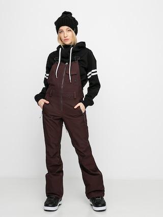 Volcom Pantaloni pentru snowboard Swift Bib Overall Wmn (black red)