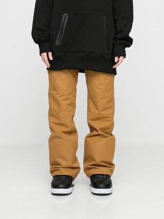 Pantaloni pentru snowboard Volcom Bridger Ins Wmn (burnt khaki)