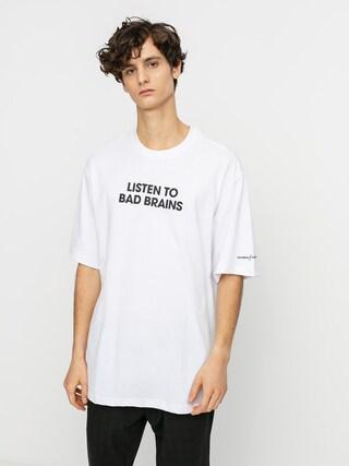 Tricou Element Listen To Bad Brains (optic white)