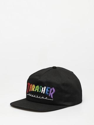 u0218apcu0103 Thrasher Rainbow Mag Snapback ZD (black)