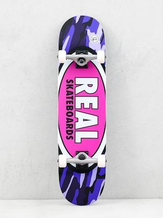 Real Skateboard Oval Camo (pink)