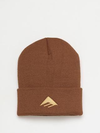 Emerica Cu0103ciulu0103 Triangle Beanie (brown)