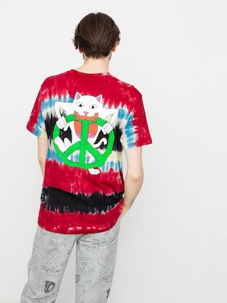 RipNDip Tricou Peace No Love (tie dye)