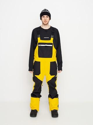 Pantaloni pentru snowboard ThirtyTwo Basement Bib (black/gold)