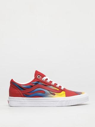 Pantofi Vans Old Skool (racer red/true blue)