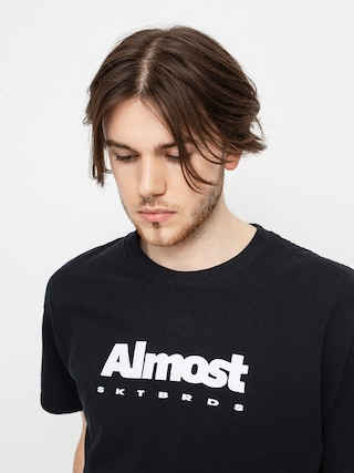 Almost Tricou Stacked Price Point (black)