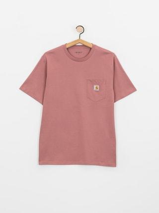 Carhartt WIP Tricou Pocket (malaga)