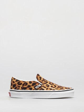 Pantofi Vans Classic Slip On (leopard black/true white)
