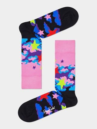 u0218osete Happy Socks Stars (pink/black)