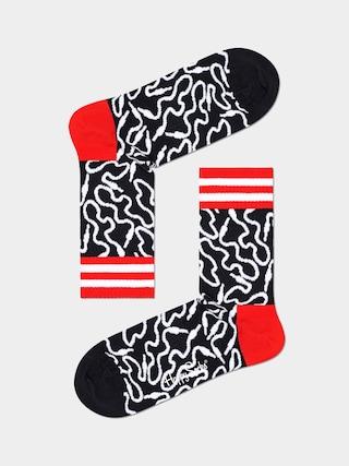 Happy Socks u0218osete Wire 3/4 (black/white)