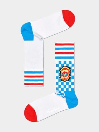 Happy Socks u0218osete Roar Thin (white)