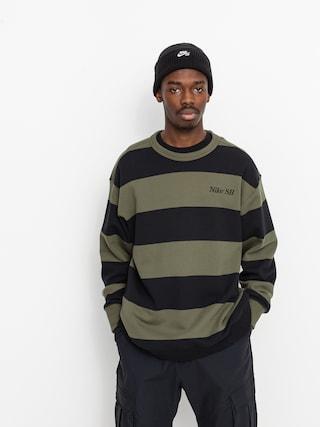 Hanorac Nike SB Stripe Crew (cargo khaki/black/black)
