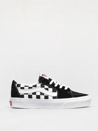 Pantofi Vans Sk8 Low (canvas/suede black/checkerboard)