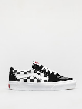 Vans Pantofi Sk8 Low (canvas/suede black/checkerboard)