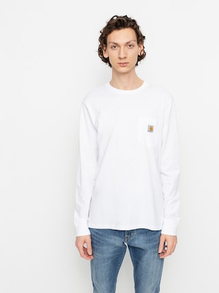 Carhartt WIP Tricou Pocket (white)