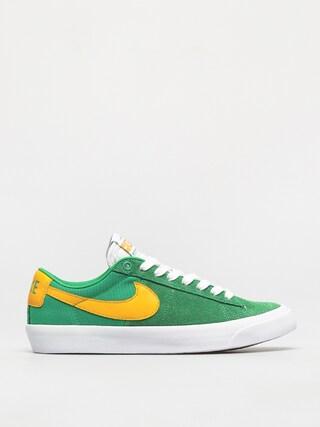 Pantofi Nike SB Zoom Blazer Low Pro Gt (lucky green/university gold black white)