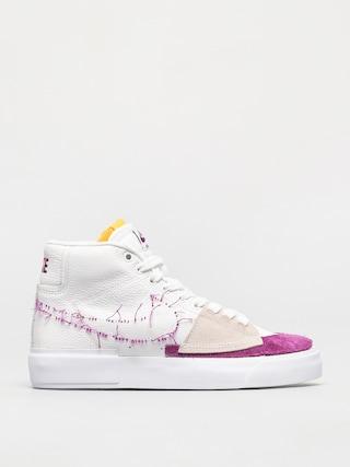 Pantofi Nike SB Zoom Blazer Mid Edge (white/viotech white)