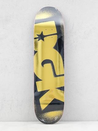 DGK Placu0103 Og Logo (black/gold)