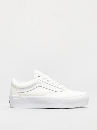 Pantofi Vans Old Skool Platform (true white)