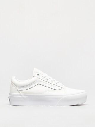 Vans Pantofi Old Skool Platform (true white)