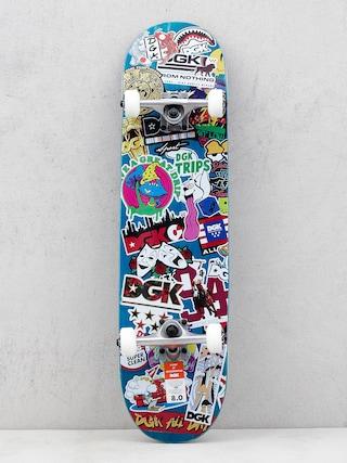 DGK Skateboard Stix (blue/multi)