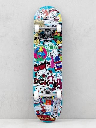 DGK Skateboard Stix (teal/multi)