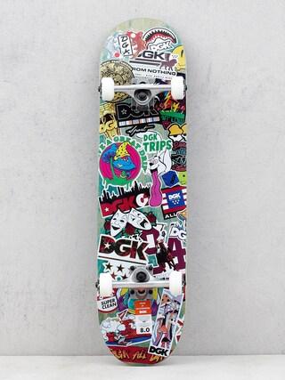 DGK Skateboard Stix (green/multi)
