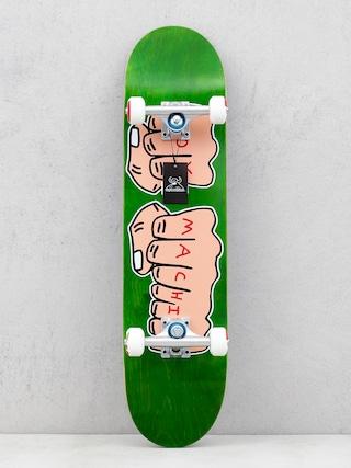 Toy Machine Skateboard Fists Woodgrain (green)