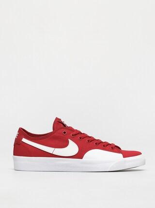 Pantofi Nike SB Blazer Court (gym red/white gym red gum light brown)