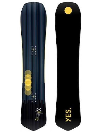 Yes Snowboard The Y (black/yellow)