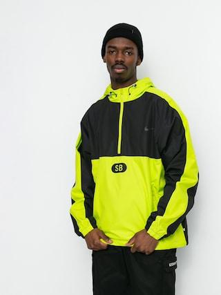 Geacu0103 Nike SB Half Zip HD (black/cyber/black/anthracite)
