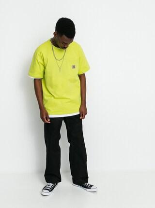 Tricou Carhartt WIP Pocket (limeade)