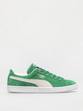 Pantofi Puma Suede Teams (green)