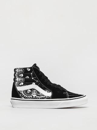 Vans Pantofi Sk8 Hi (bandana black/true white)