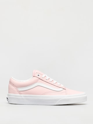 Vans Pantofi Old Skool (leather blushing bride/true white)