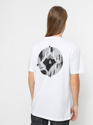 Volcom Tricou C Vivary (white)