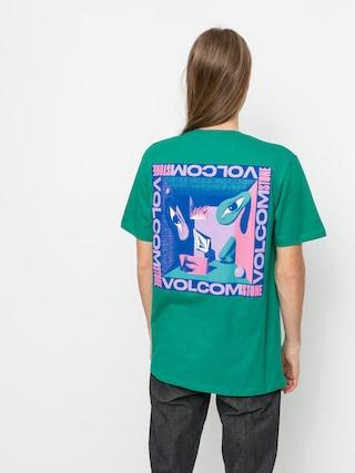 Volcom Tricou M (synergy green)