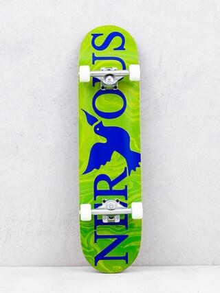 Nervous Skateboard Classic Logo (green)