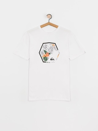 Quiksilver Tricou Fading Out (white)