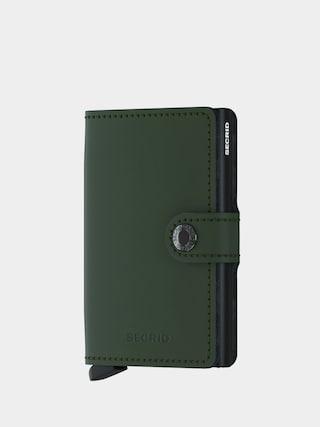 Secrid Portofel Miniwallet (matte green/black)