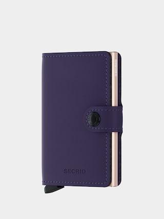 Secrid Portofel Miniwallet (matte purple/rose)