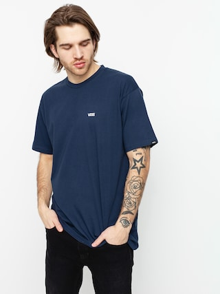 Vans Tricou Left Chest Logo (dress blues/white)