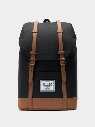 Herschel Supply Co. Rucsac Retreat (black/saddle brown)