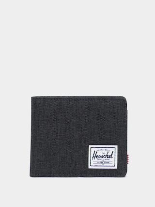 Portofel Herschel Supply Co. Roy Coin RFID (black crosshatch)