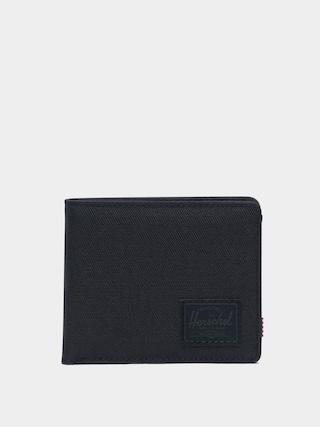 Portofel Herschel Supply Co. Roy Coin RFID (black/black)