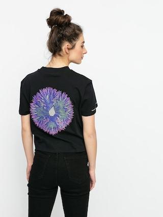 Volcom Tricou Coral Morph Wmn (black)