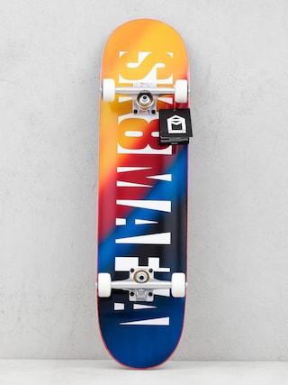 Sk8Mafia Skateboard Og Logo (blur)