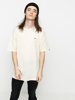 Tricou Vans Left Chest Logo (seed pearl/black)