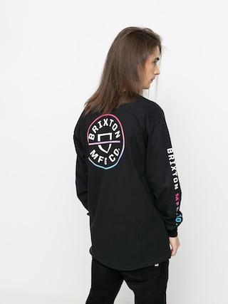 Brixton Tricou Crest Stt (black/light blue/pink)